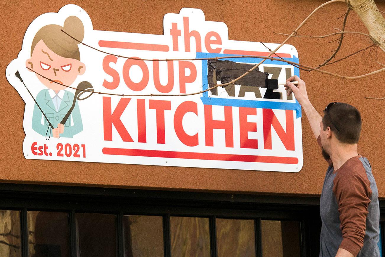 Photo of 'Soup Nazi' joke is no longer funny, a restaurateur learns   HeraldNet.com